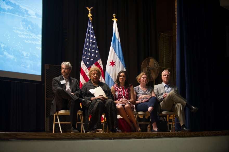 Jackson Park Framework Plan - City of Chicago Meeting - Hyde Park High School #005