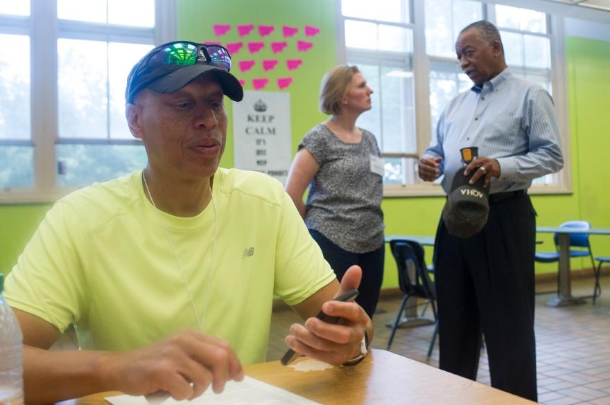 Jackson Park Framework Plan - City of Chicago Meeting - Hyde Park High School #026
