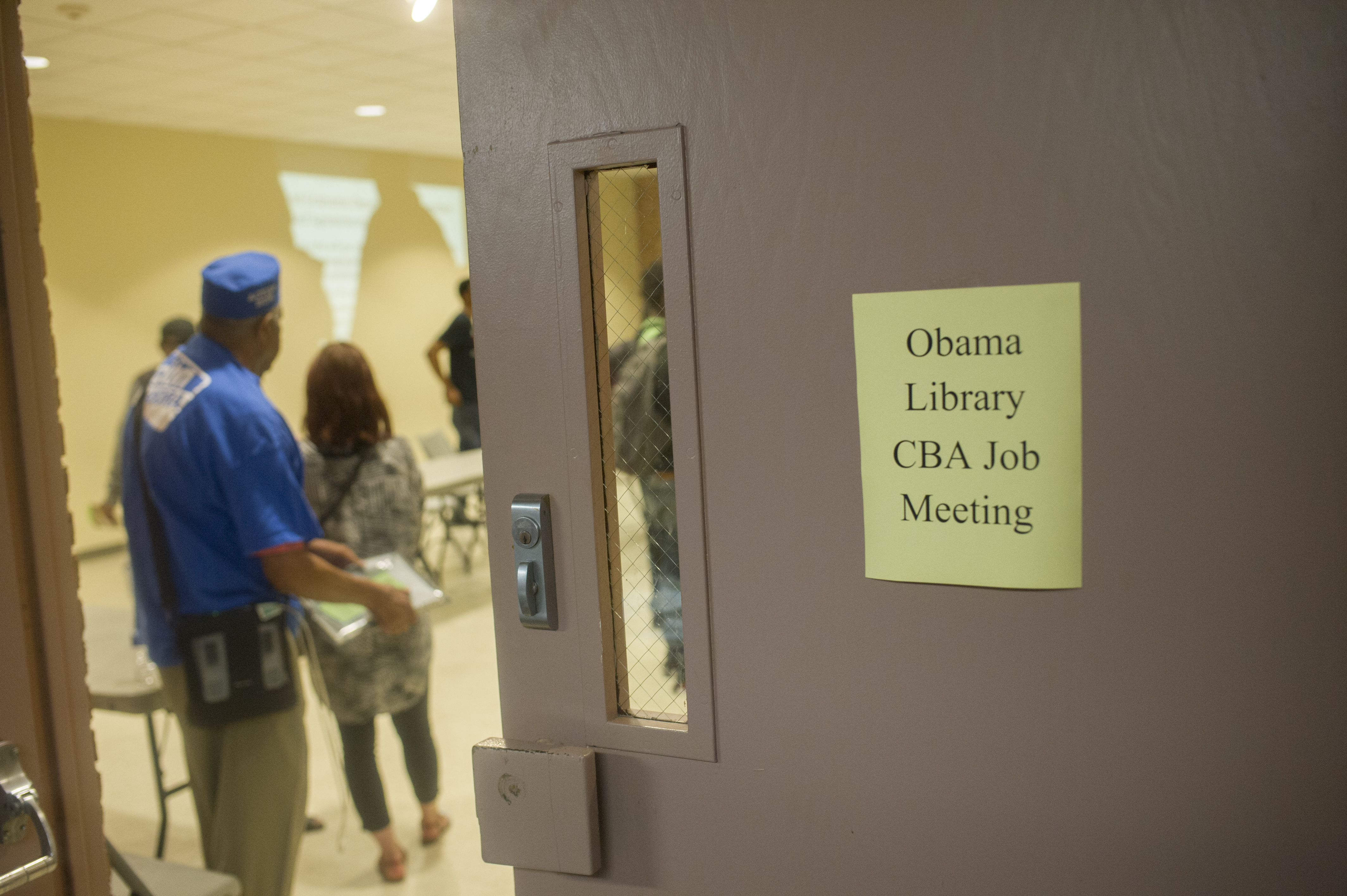 Obama Library South Side CBA Coalition Meeting - June 28, 2017 #009