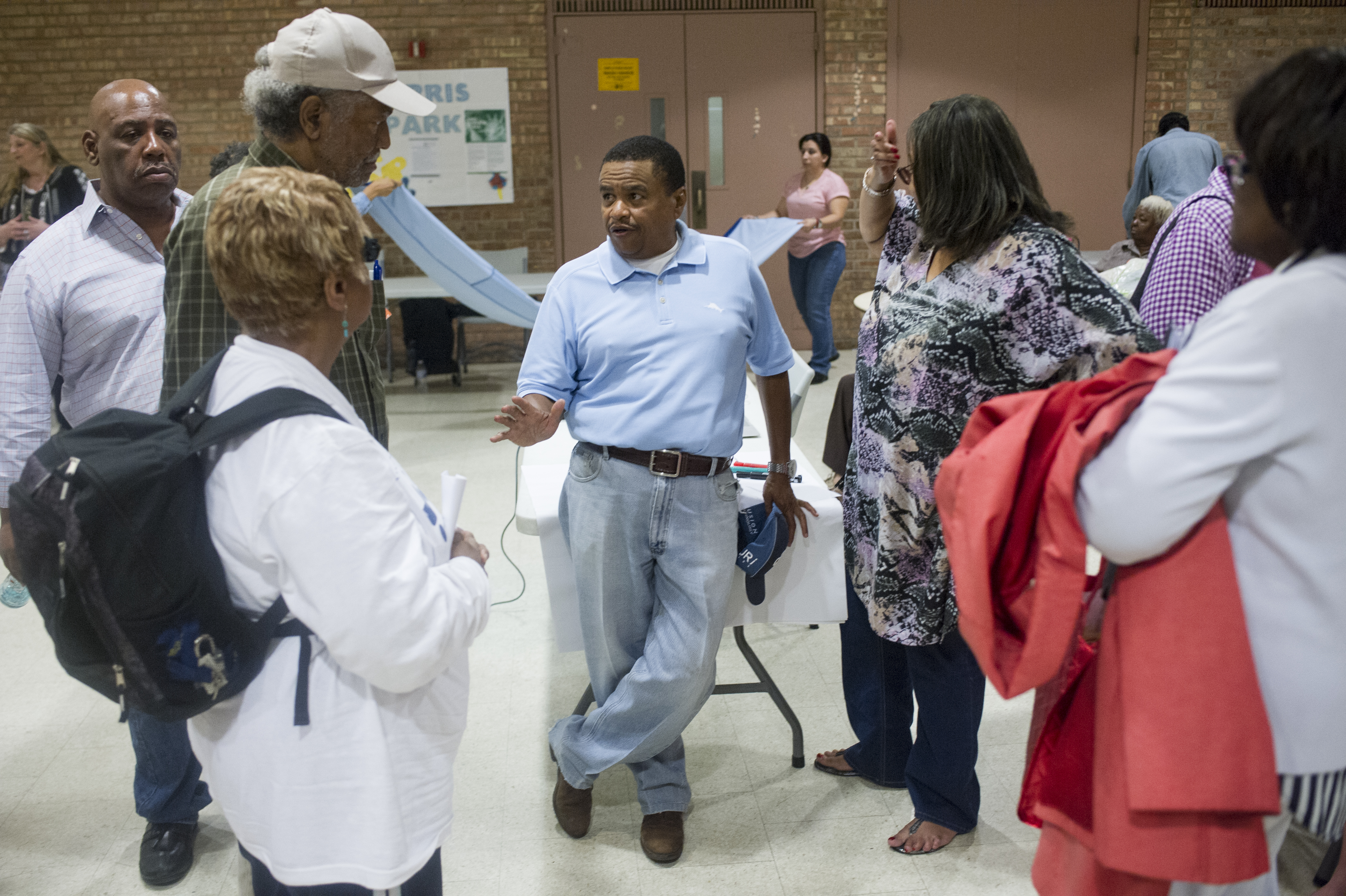 Obama Library South Side CBA Coalition Meeting - June 28, 2017 #012